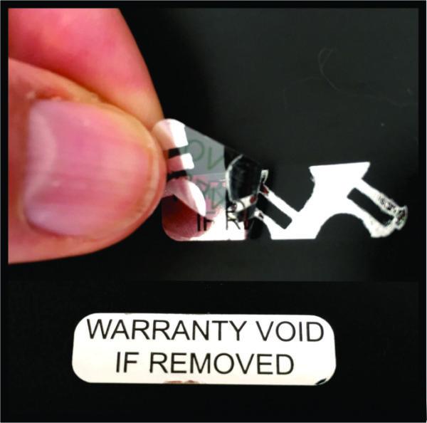 silver warranty void